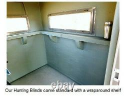 INSULATED core Structure HUNTING BLINDS with Heavy Duty Industrial Grade LINER
