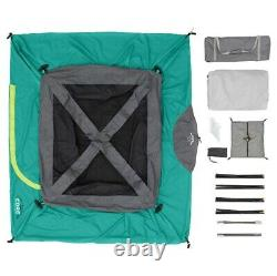 Instant Cabin Tent 4 Person Camping Family Outdoor Shelter Fits 1 Queen Air Matt
