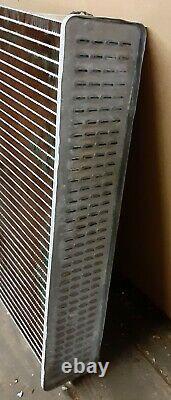 John Deere Radiator Core Only 01921VT Heavy Duty All Metal BRASS NOS 4 row