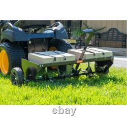 Lawn Aerator Core Plug Aerator Tow Behind Tractor Mower Heavy Duty NEW