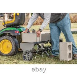 Lawn Aerator Core Plug Aerator Tow Behind Tractor Mower Heavy Duty USA