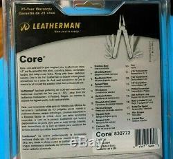 Leatherman Core MultiTool -Rare Leather Sheath- Heavy Duty Retired & Sealed