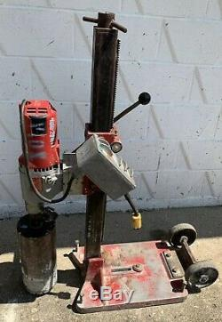 MILWAUKEE Heavy Duty Dymodrill #4096 Core Drill Core Bore Rig with 6 Bit