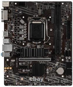 MSI B460M-A PRO 10th Gen Intel Core LGA 1200 Socket DDR4 USB 3.2 Gen 1 Gigabit