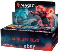 Magic The Gathering Core Set 2020 Booster Box 36 Booster Packs