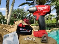 Milwaukee 2754-20 M18 FUEL 3/8 210 FT/LBS 5.0 Ah High Torque Wrench Impact