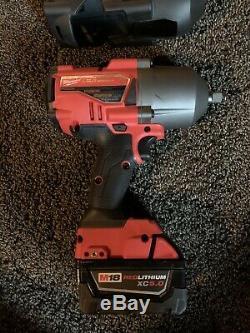 Milwaukee 2767-20 M18 FUEL 1/2 5 High Torque Wrench Impact Bundle