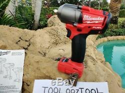 Milwaukee 2852-20 M18 FUEL 3/8 600 FT/LBS Torque Wrench Impact