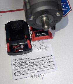 Milwaukee 2854-20 M18 3/8 Drive Stubby Impact Wrench Bare Tool With 2.0 Battery