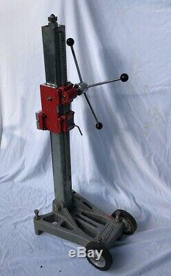 Milwaukee 4130 Core Drill Rig Stand Large Base 80lbs Heavy Duty Dymorig NICE