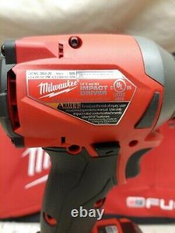 Milwaukee2853-22M18 FUEL 18-Volt1/4 Impact Driver Set2-5.0Ah BatteriesNew