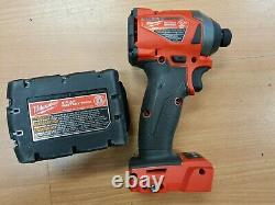 NEW Milwaukee M18 2853-20 FUEL Impact Driver 1/4 Hex With XC5.0 Battery FREE SHIP