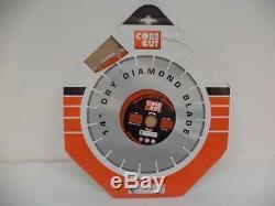 New Core Cut C1h Heavy Duty Orange 14 Dry Diamond Blade