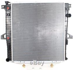 New Radiator Ford Explorer 1997-1999 4.0L 2-Row Core Heavy Duty Cooling