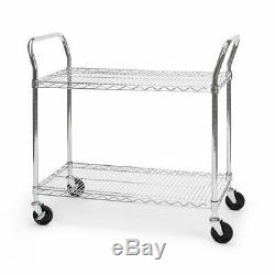 OFM Core Collection X5 Series Heavy Duty 18 X 36 Mobile Silver 18x36