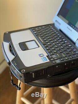 Panasonic Toughbook Rugged Core i5 Windows 10 / 7 Touch Screen 750GB Laptop