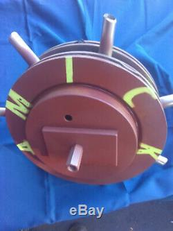 ROLLAERATOR, 13 DoubleDisk, bigger, heavier, heavy duty, 5/8 core tines