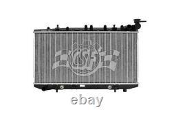 Radiator-1 Row Plastic Tank Aluminum Core Heavy Duty CSF 2458