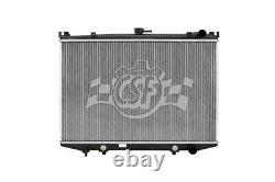 Radiator-1 Row Plastic Tank Aluminum Core Heavy Duty CSF 2834