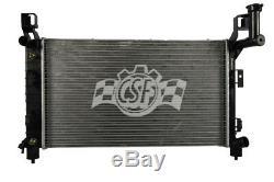 Radiator-1 Row Plastic Tank Aluminum Core Heavy Duty Lower CSF 3090