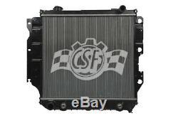 Radiator-2 Row Plastic Tank Aluminum Core Heavy Duty fits 05-06 Jeep Wrangler