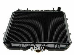 Radiator For 1984 Toyota Pickup GAS Q267DD Metal Core - Excluding Heavy Duty