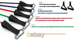 Resistance Band Handle Heavy Duty Cable Machine Attachment with ABS Core, Strong