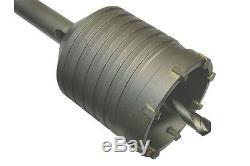 SDS-Max heavy duty hollow core drill bit Ø 112mm