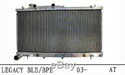 SUBARU LEGACY H6 3.0 EZ30 03-09 AT/MT RADIATOR, HEAVY DUTY 40mm CORE 2-ROW