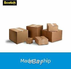 Scotch Heavy Duty Shipping Packaging Tape, 3 Core, 1.88 x 54.6 Yards, 36 Rolls