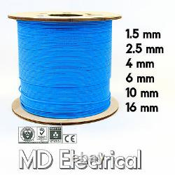Single Core Conduit Cable 6491X Blue Electrical Wire 1.5 2.5 4 6 10 16 mm