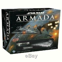 Star Wars Armada Core Set Starter Factory Sealed Brand New Fantasy Flight Games