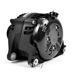 XDP Wrinkle Black HD High Output Alternator For 07.5-18 Dodge Ram 6.7L Cummins